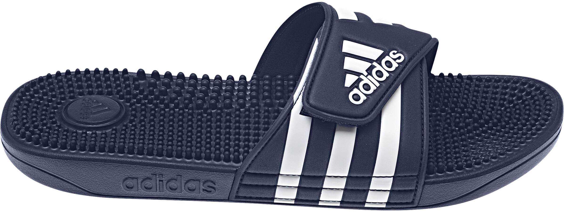 best website eea10 141b6 adidas Adissage Teenslippers en sandalen Heren blauw